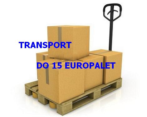 Transport do 15 europalet - tel 694533885